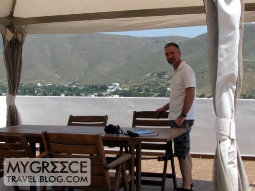 Fildisi Hotel terrace