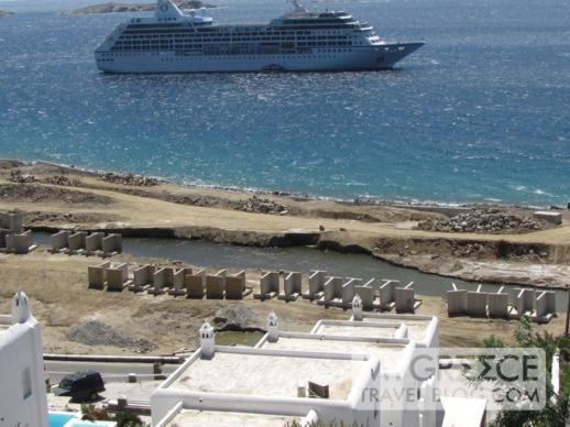 Mykonos Town marina