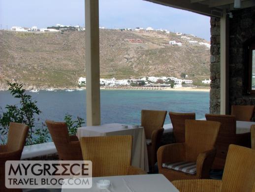Petasos Beach Resort dining room view