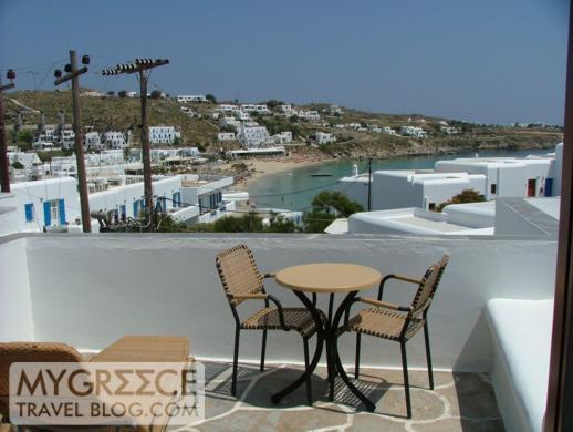 Petasos Beach Resort Room 183 balcony