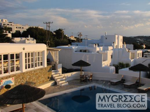 Rochari Hotel Mykonos swimming pool