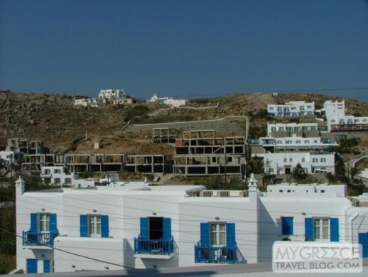 Petasos Beach Resort Room 183 view