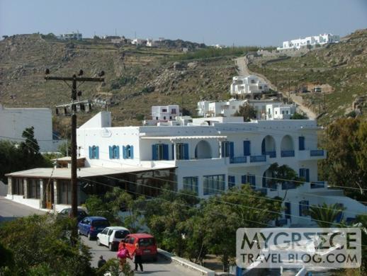 Petasos Beach Resort view from Room 183