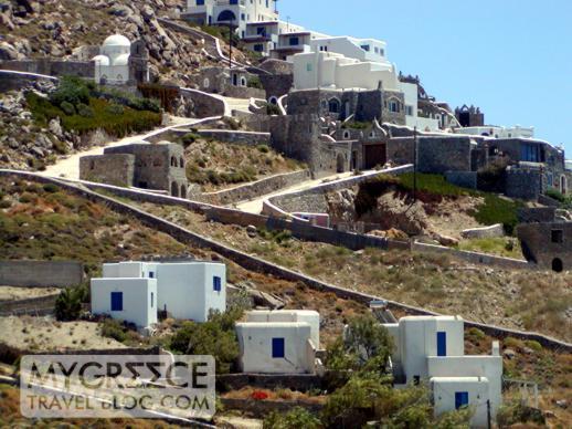 Myconian Imperial Resort & Villas balcony view