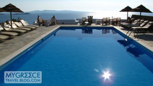 Hotel Tagoo Mykonos swimming pool