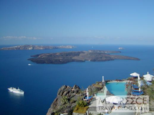 Phenix Hotel Santorini views