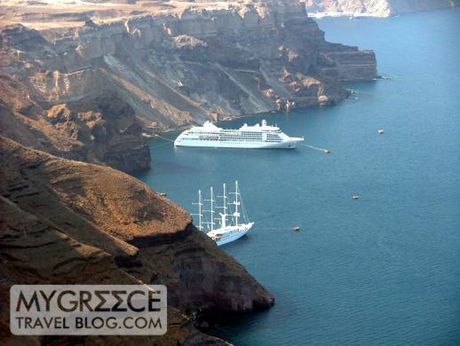 Phenix Hotel Santorini views