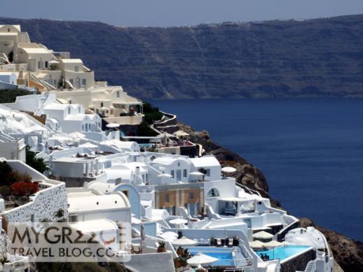 Oia village on Santorini