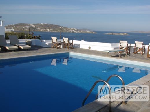 Hotel Tagoo Mykonos views