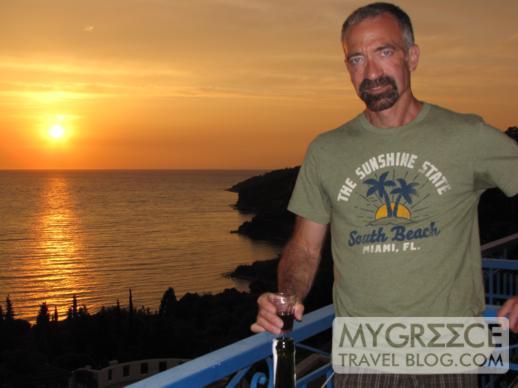 Andromeda Hotel Samos sunset views