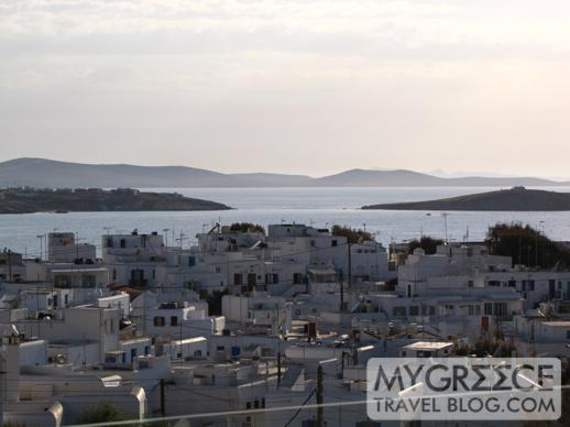 Rohari Hotel view of Mykonos Town