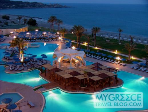 Rodos Palladium sea and pool views