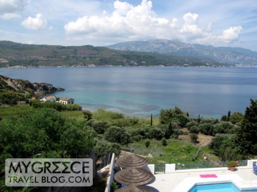 Andromeda Hotel Samos balcony view