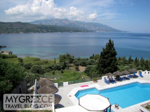 Andromeda Hotel Samos view of Vathi Bay