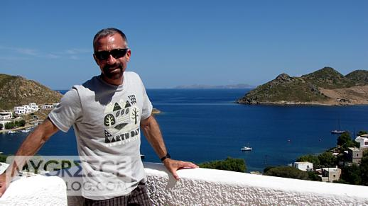Hotel Golden Sun Patmos balcony view