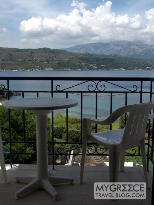 Andromeda Hotel in Kalami Samos