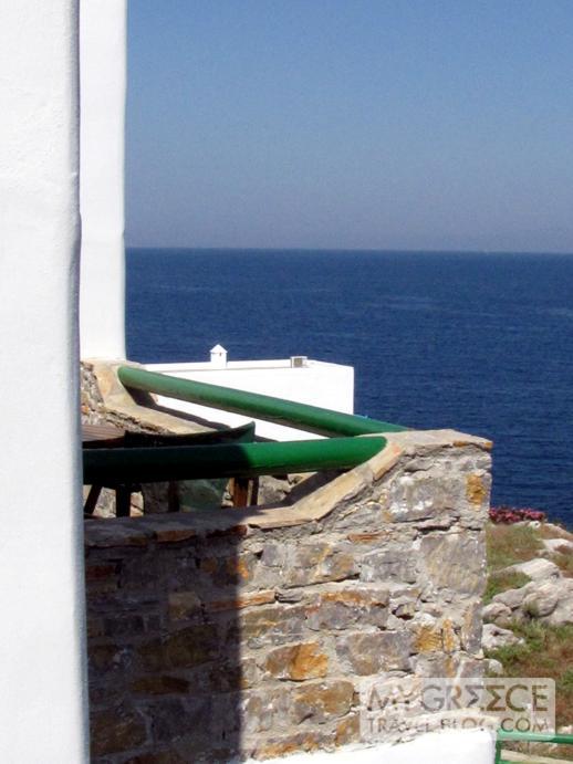 Yperia Hotel Amorgos balcony view