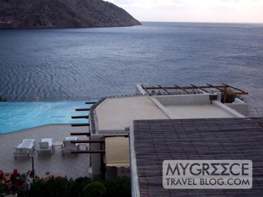 Hotel Delfini Sifnos view