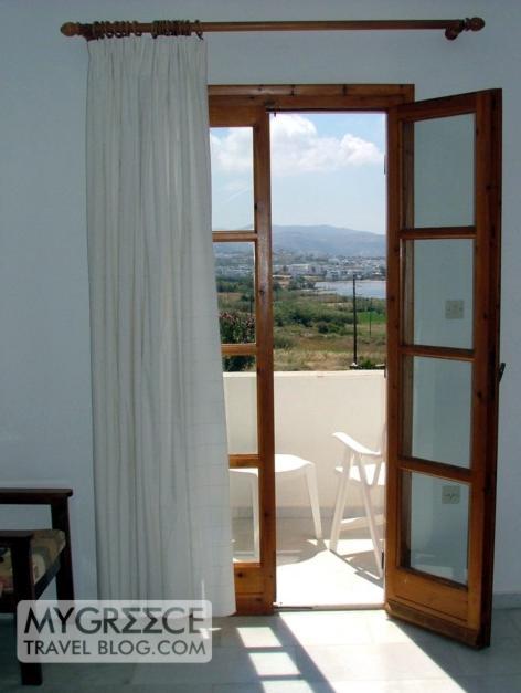 Lianos Village hotel room view