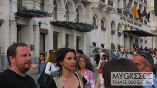 Hotel Grande Bretagne in Athens