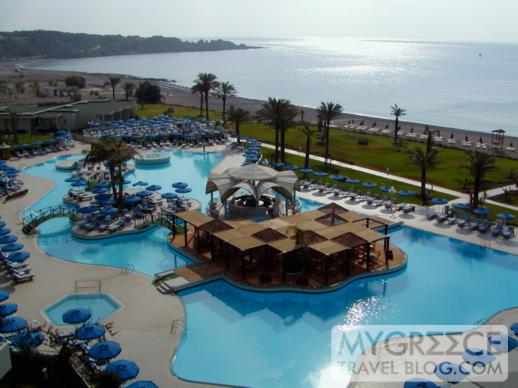 Rodos Palladium sea view