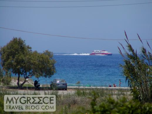 Yria Hotel sea view