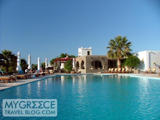 Yria Hotel Paros swimming pool