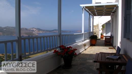 Halara Studios terrace view