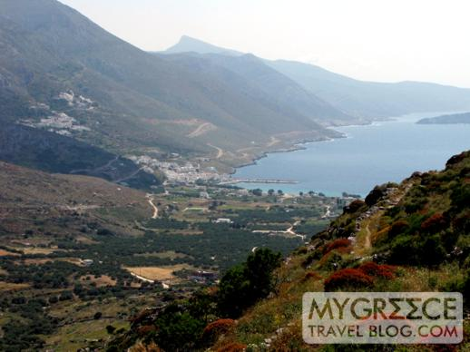 Egiali valley on Amorgos