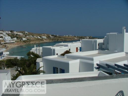Petasos Beach Resort Room 183 terrace view