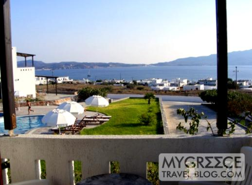 Santa Maria Village hotel balcony view