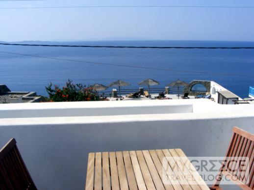 Hotel Tagoo balcony view