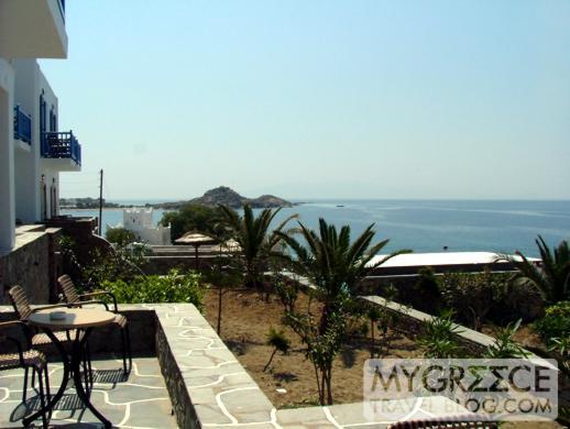 Petasos Beach Resort Room P208 view