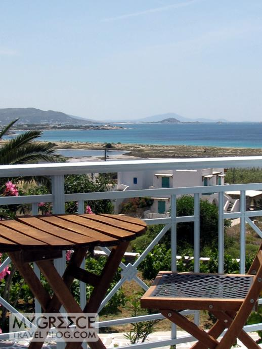 Lianos Village Naxos balcony view