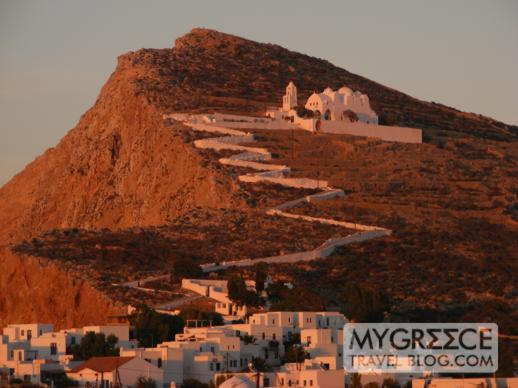 Church of Koimisis tis Theotokou in Folegandros
