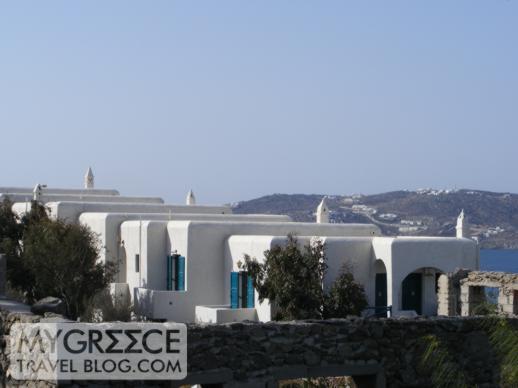 Hotel Tagoo Mykonos view