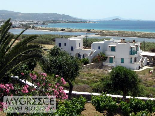 Lianos Village Naxos balcony view