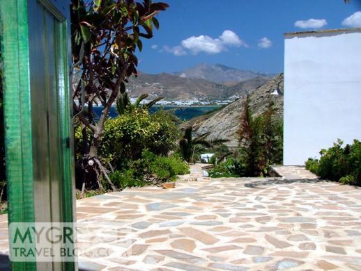 Naxos Beach II hotel room view