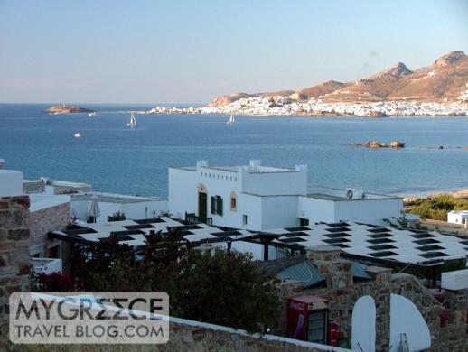 Naxos Beach II hotel views of Naxos