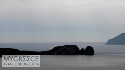 Cape Vani on the northwest tip of Milos