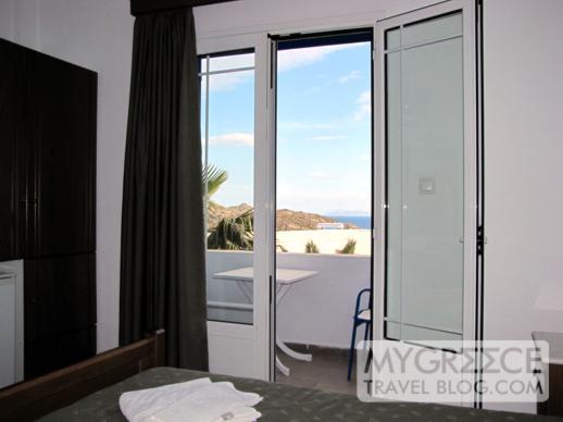 Hotel Hermes balcony view