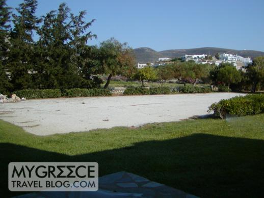 Yria Hotel Paros hotel room view