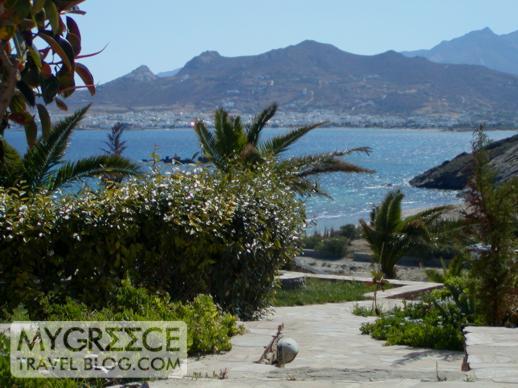 Naxos Beach II view of Naxos Town