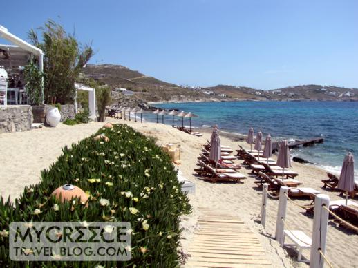 Best Island Beaches For Partying Mykonos St Barts: Hippie Fish Taverna At Agios Ioannis Beach Mykonos May 17