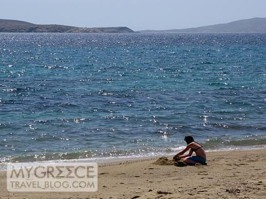 Agios Ioannis beach at Mykonos
