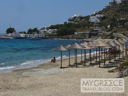 Agios Ioannis beach on Mykonos