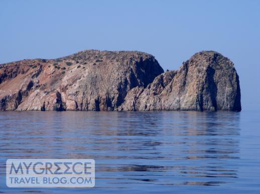 Cape Vani on Milos