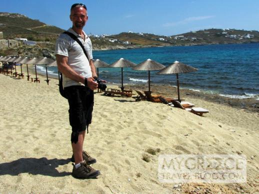 Donny B at Agios Ioannis beach Mykonos