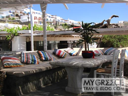 Hippie Fish bar + taverna at Ag Ioannis beach Mykonos