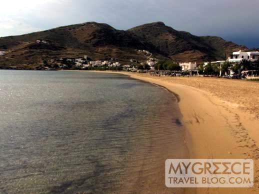 Gialos Beach on Ios